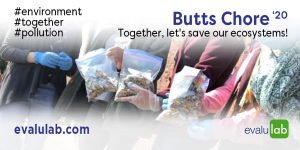 Butts Chore '20 Together, let's save our ecosystems!